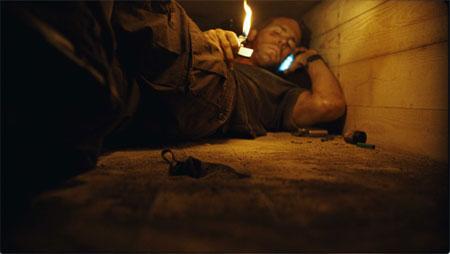 Ryan Reynolds în Buried. Foto: Lionsgate