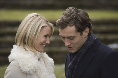Cameron Diaz și Jude Law în The Holliday. Foto: Sony Pictures Entertainment