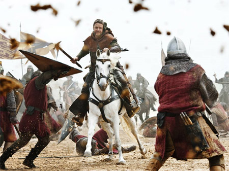 Russell Crowe în Robin Hood/Foto: Universal Pictures