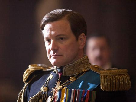 Colin Firth în rolul regelui George VI în The King's Speech/Foto: Laurie Sparham/ The Weinstein Company