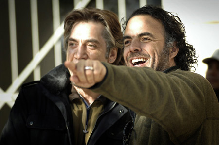 Javier Bardem și Alejandro Gonzalez Inarritu/Foto: TransilvaniaFilm