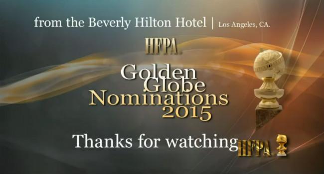 golden globes nominalizari 2015