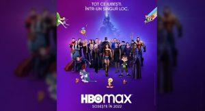 HBO Max, disponibil în România din 2022